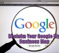 reclaim Google My Business Map