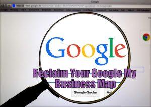 reclaim Google My Business Map